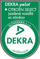 Certifikát Dekra